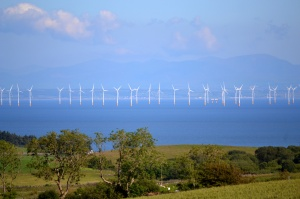 Sand banks are great for offshore wind farms - Robin Rigg in Solway Firth